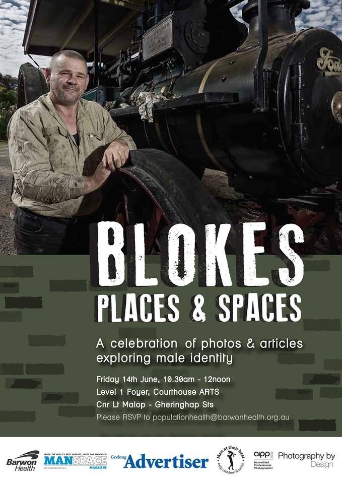 Mens Shed Photography Project Gallery exhibition