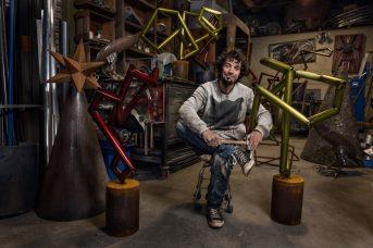 Justin sculptor artist